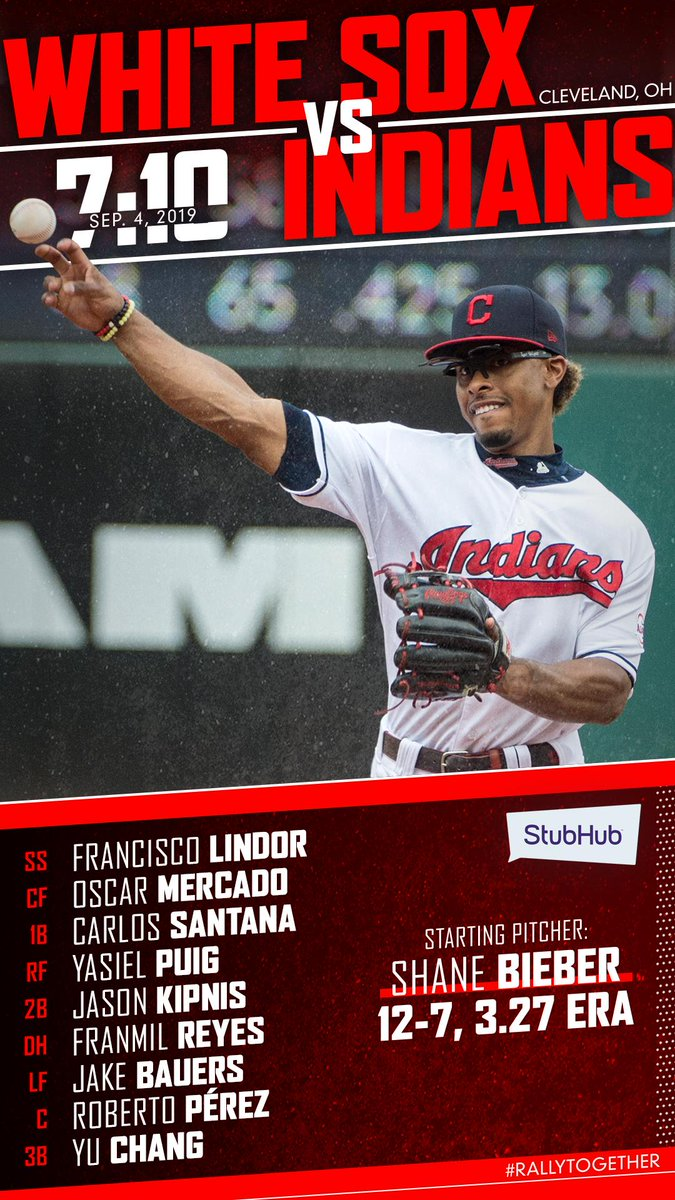 newest 20e19 08bac Cleveland Indians on Twitter: