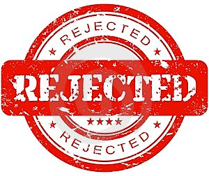 rejection hashtag on Twitter