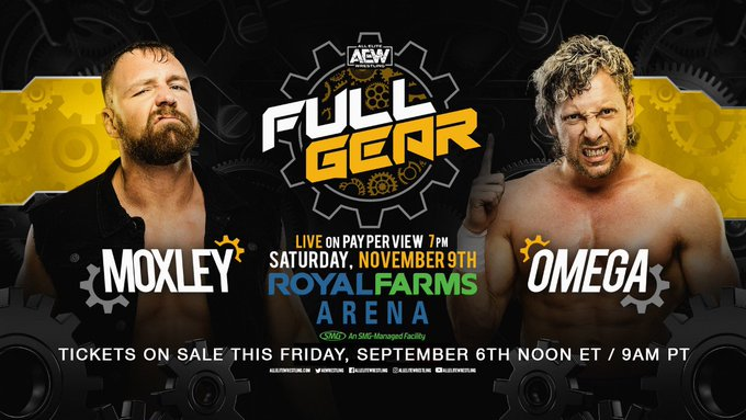 AEW Announces First Match For Full Gear PPV