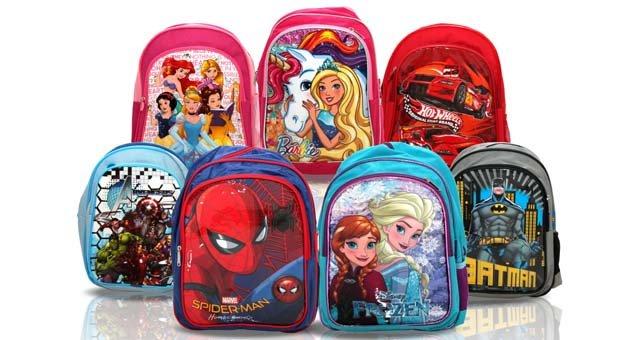 Çocukların okul çantası Trump AVM'den