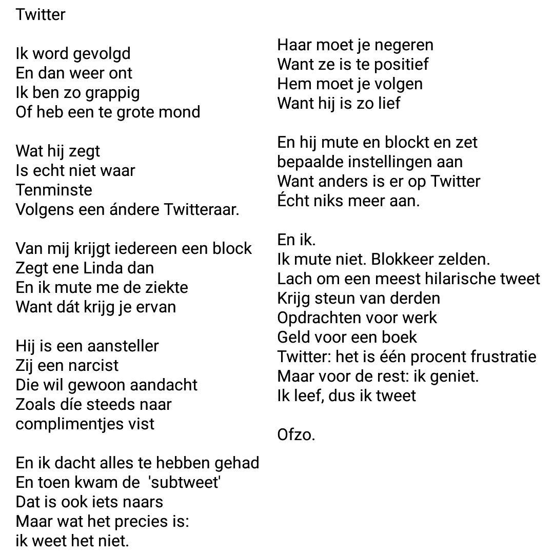 Marijke Groot On Twitter Ik Noem Dit Gedicht Twitter
