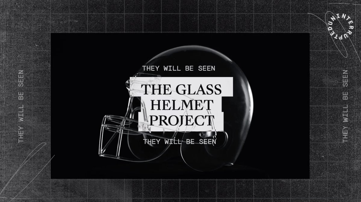We created the Glass Helmet Project as a symbol to reinforce the fundamental humanity of the football players that wear it. @mavcarter, @Hawk, and Victor Solomon discuss the importance for players to be seen and heard. #MoreThanAFootballPlayer #MoreThanAnAthlete