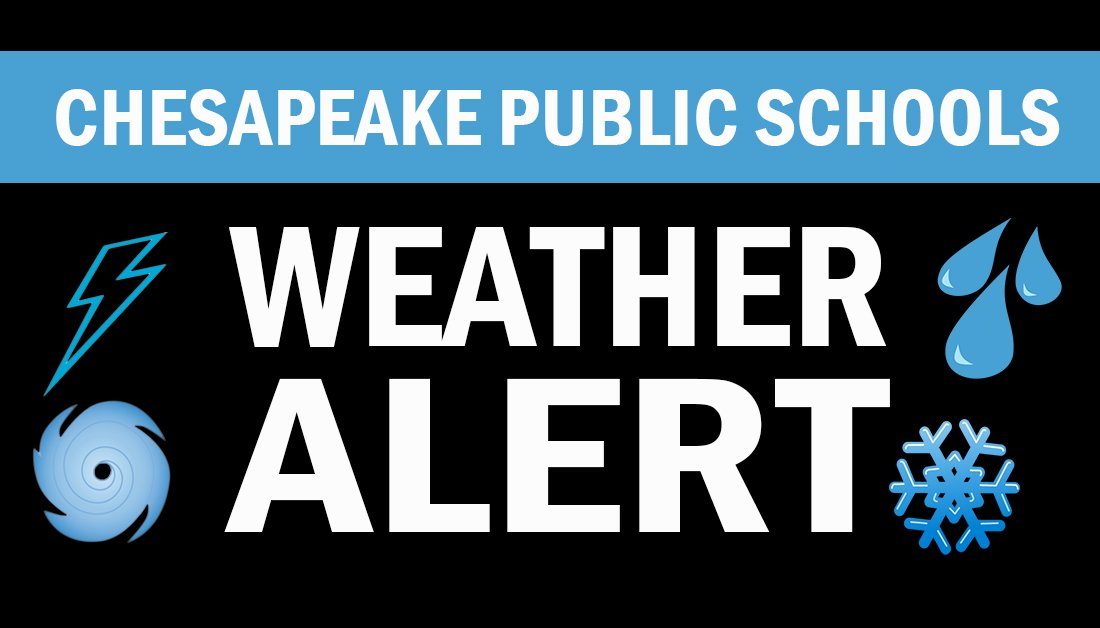 WEATHER ALERT: Thursday, Sept. 5 remains a full instructional day; however, all after-school and evening activities are cancelled. Our schools will be closed on Friday, Sept. 6. For more information visit: cpschools.com/emergency