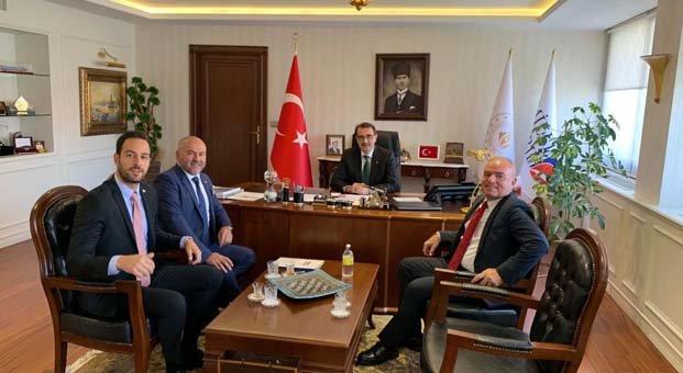GÜNDER, GENSED ve GÜYADEnerji Bakanı Dönmez'i ziyaret etti