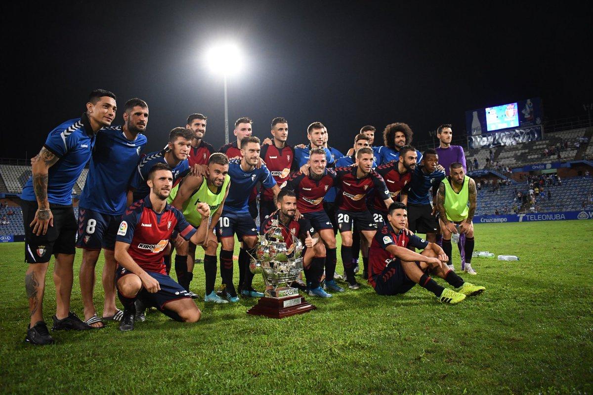 Desde La Banda - Fútbol Navarro | Osasuna campeón del Trofeo Colombino.