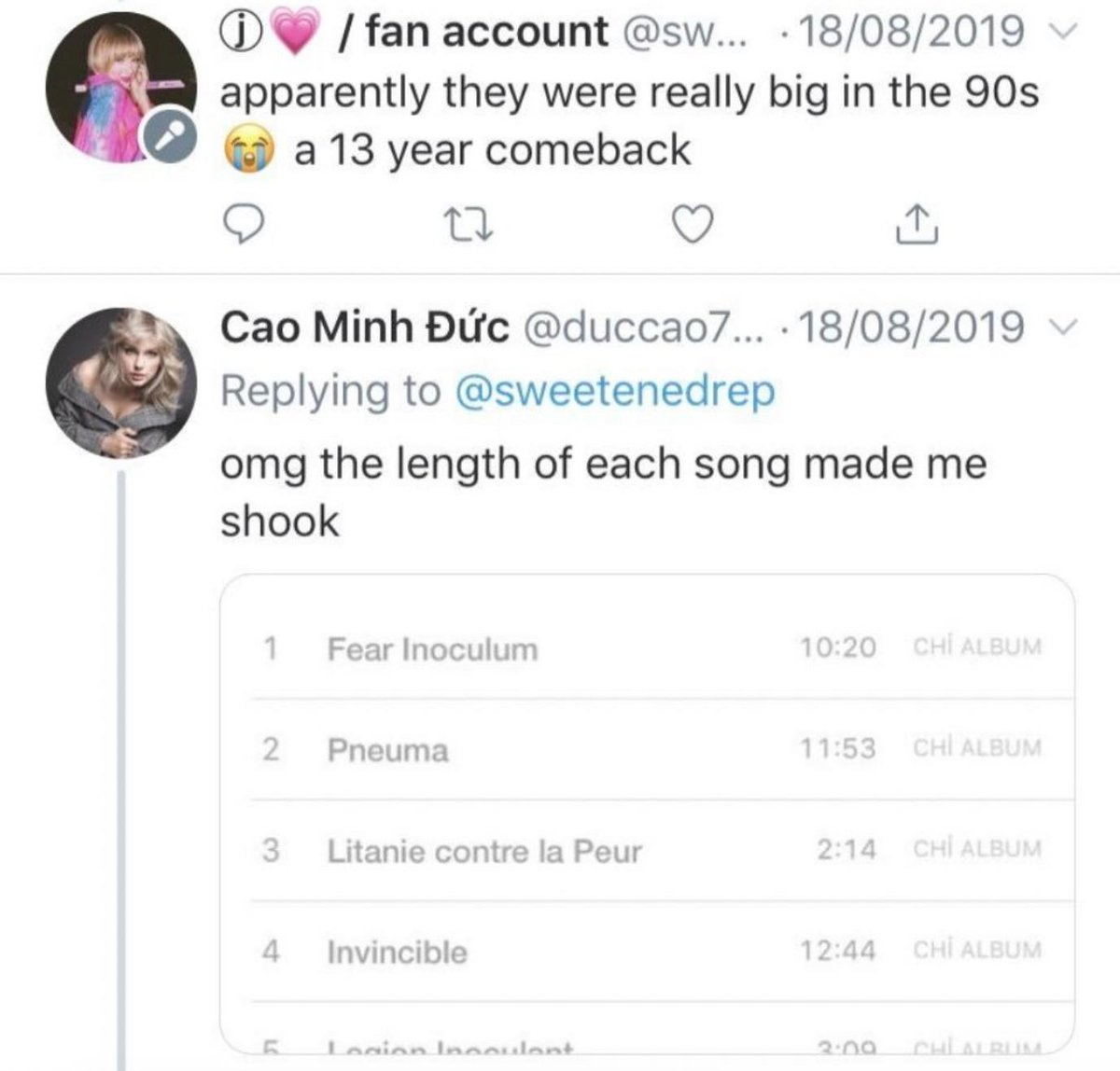 Ryan Broderick On Twitter Taylor Swift Stans Learning Who Tool Are Because They Re Currently Selling More Copies Than Lover Is Really Something Special Https T Co 4udvlw1wu1 Taylor swift ретвитнул(а) paul mccartney. twitter taylor swift stans learning
