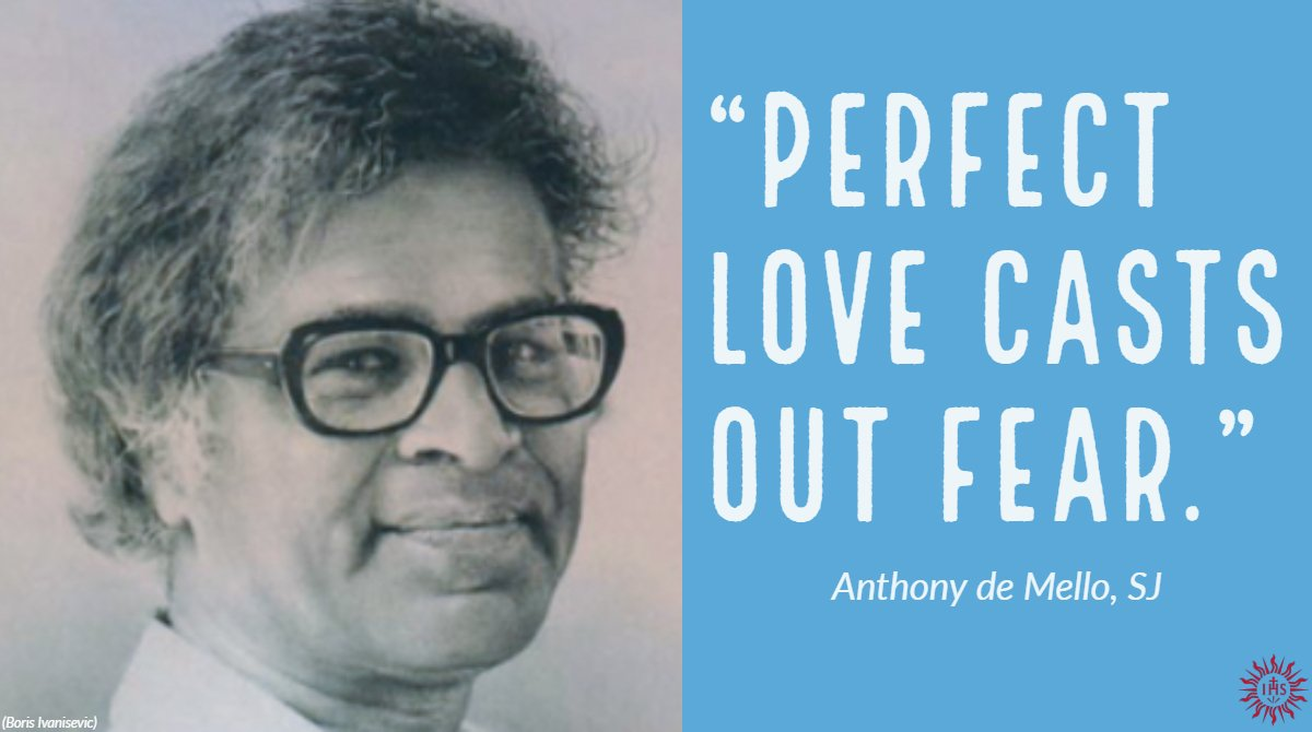 #WednesdayWisdom from Anthony de Mello, SJ, #Jesuit priest and author, who was born #OTD in 1931.