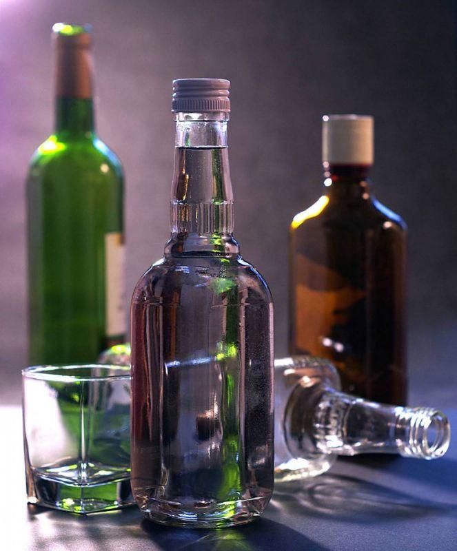 Картинка с бутылками, дню