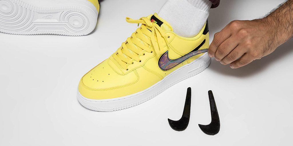 Nike Air Force Yellow Pulse