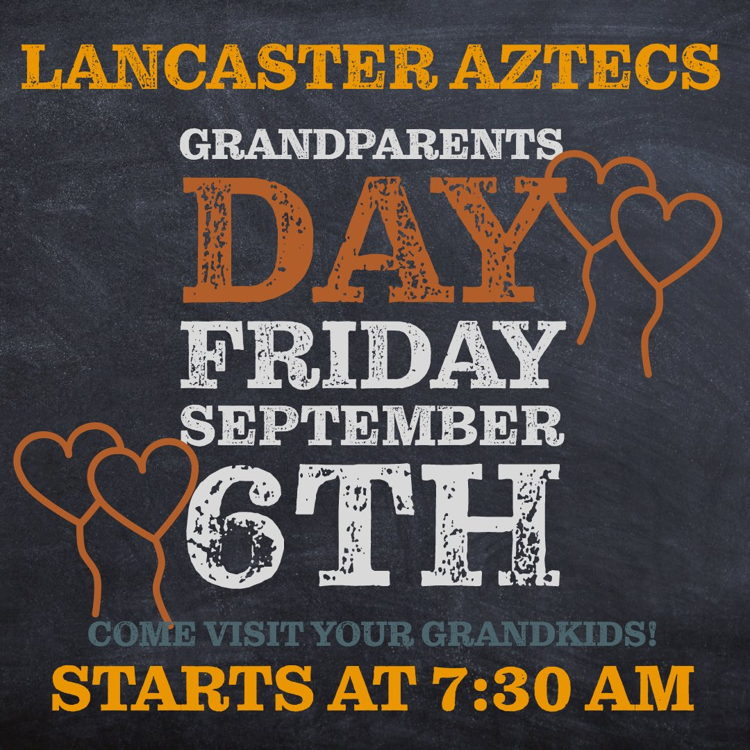 Aztecs love their granparents. See you this Friday. #aztecstrong, #THEDISTRICT