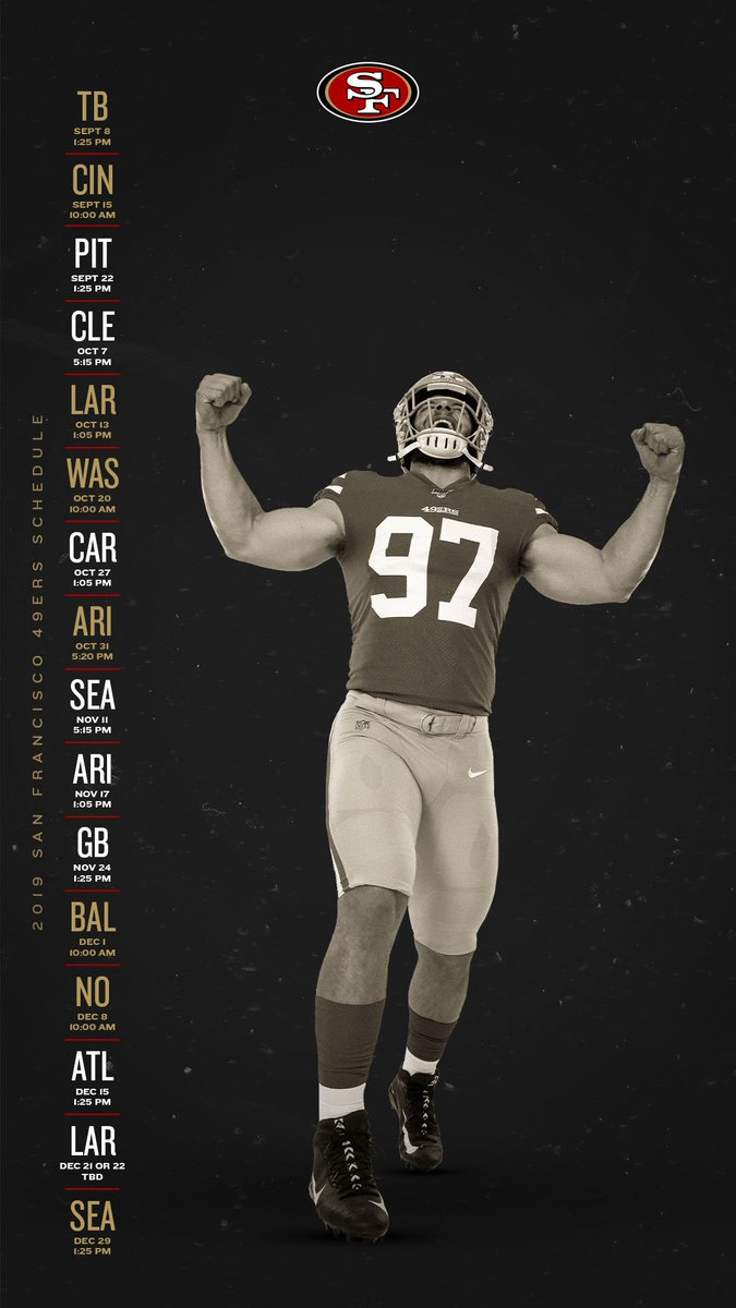 San Francisco 49ers On Twitter New Season New Wallpapers