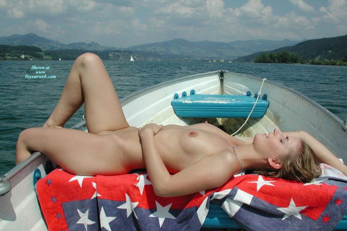 Amateur Girls On Boat 1