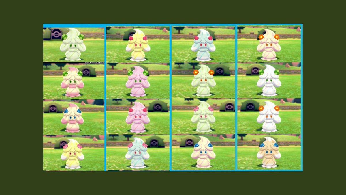 色違い 一覧 剣盾 【ポケモン剣盾】光るお守りの効果が「ある」色違い厳選一覧