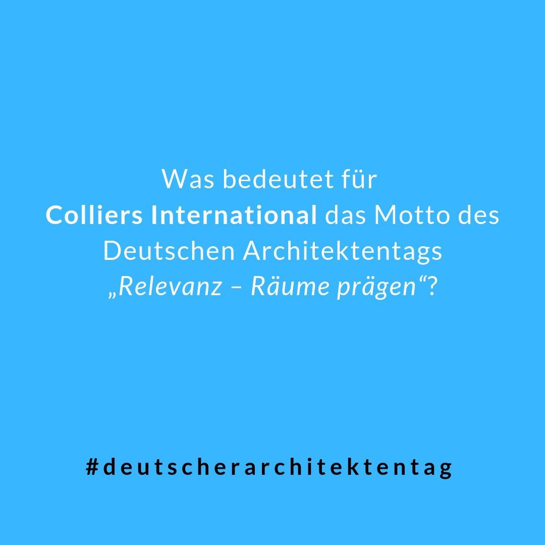 """RT @anais_roeschke: """"Die Stadt-Versteher – Versöhnung zwischen Städtebau und Ökonomie"""" Workshop von @ColliersGermany auf dem #deutscherarchitektentag der @BAK_Berlin.<br></noscript> #bundesarchitektenkammer #architekten #bauen #baukultur #städtebau #immobilien #colliersinternational #workplace #projektentwicklung t.co/L1GtCooca8"""