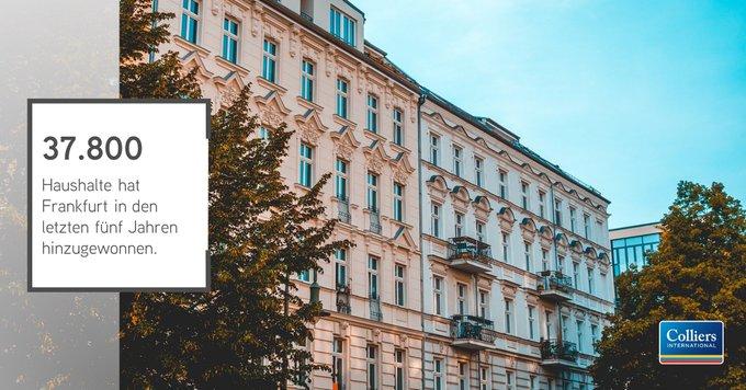 """Zahlen, bitte! Der Wohnungsmarkt in #Frankfurt<br></noscript><br>Seit 2013 ist die Zahl der Haushalte um 37.800 gewachsen. Dagegen wurden """"nur"""" knapp 21.900 Wohnungen neu gebaut. Wie sich diese Diskrepanz auf den Wohnungsmarkt in Frankfurt auswirkt, erfahren Sie hier:  t.co/ASFfxDsEGR"""