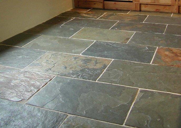 Natural stones floor