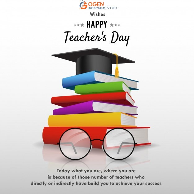 Today what you are, where you are is because of those number of teachers who directly or indirectly have built you to achieve your success. HAPPY TEACHERS DAY #TeachersDay #TeachersDay2019 #ThankyouTeachers https://t.co/vevJVpQuj8