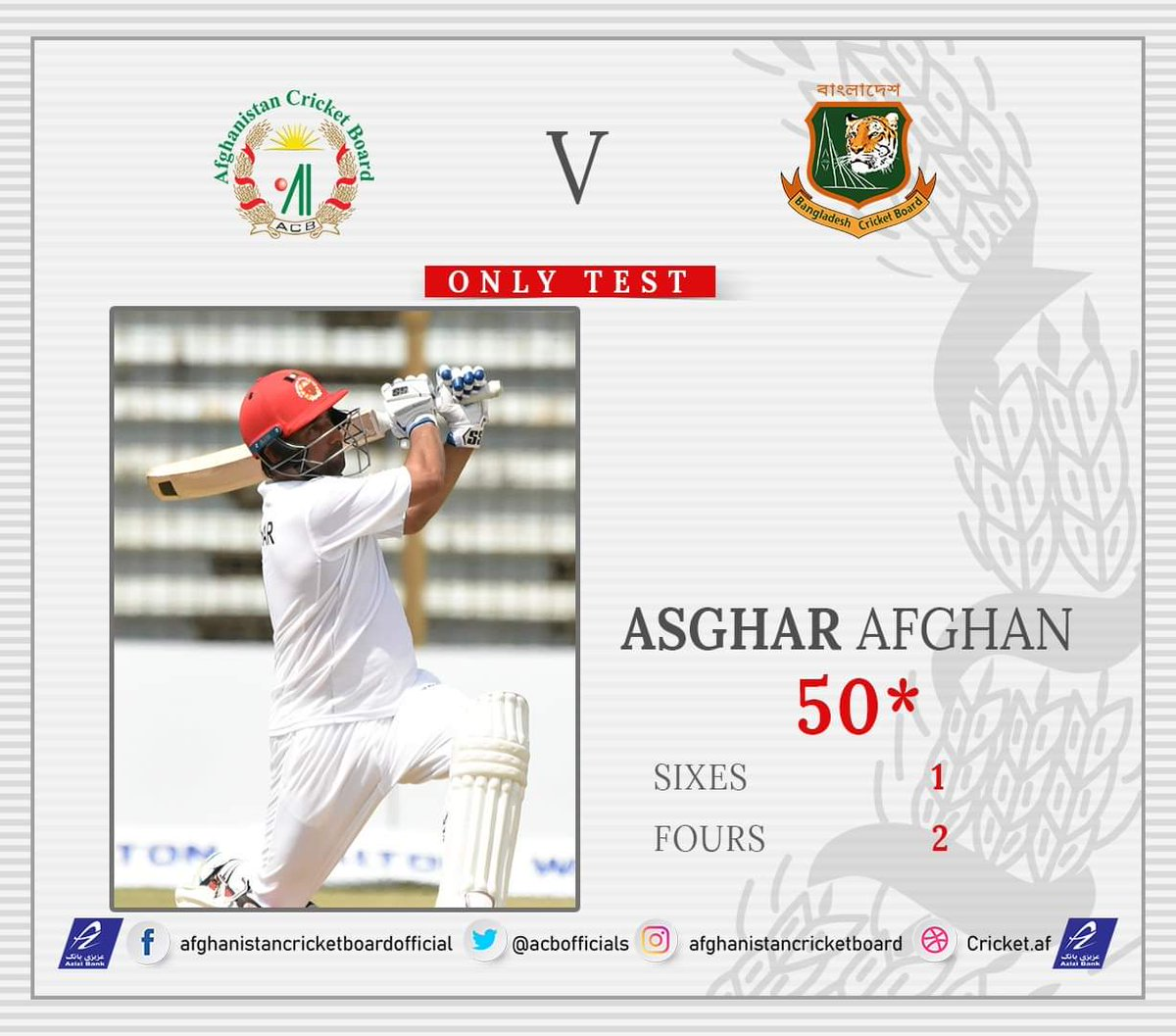 Afghanistan Cricket Board (@ACBofficials) | Twitter