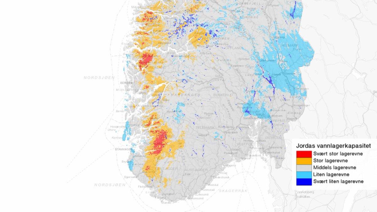 Meteorologene Pa Twitter Alt Regnet Som Har Kommet Over