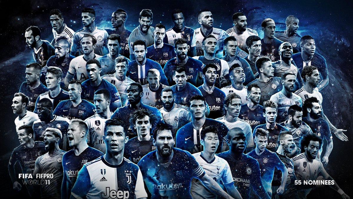 Nommés onze FIFA
