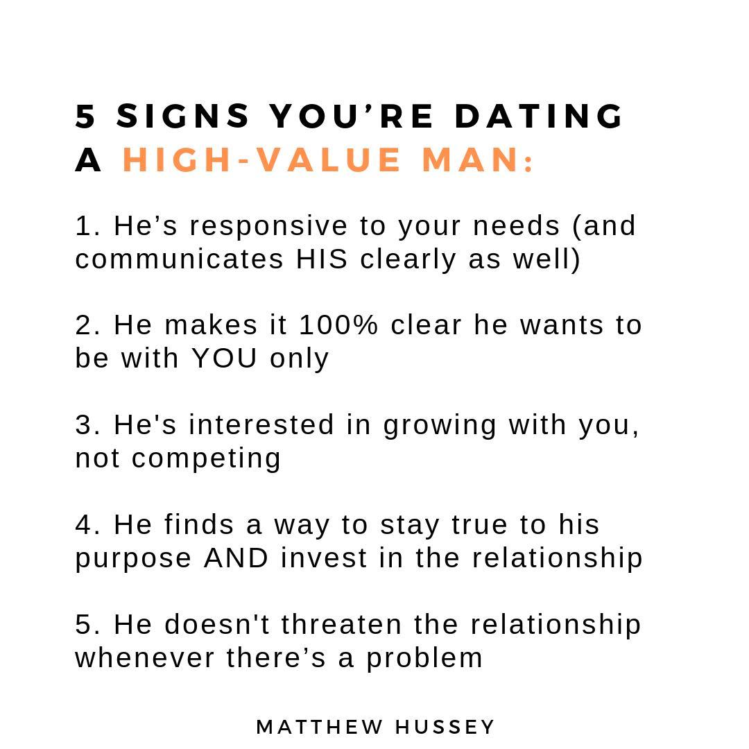 Dating advice matthew hussey text