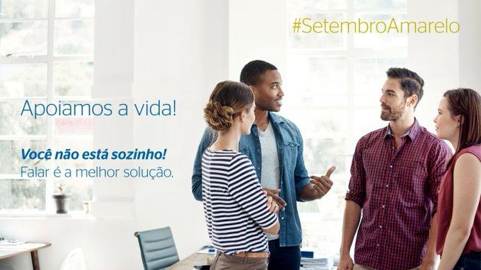 Neste mês acontece o Setembro Amarelo, a campanha do Centro de Valorização da Vida...