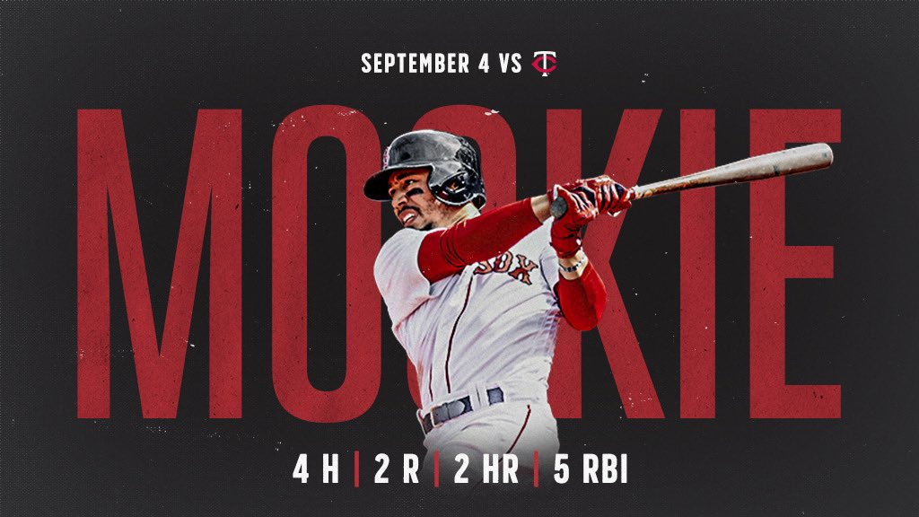 Good morning, especially to Mookie Betts!