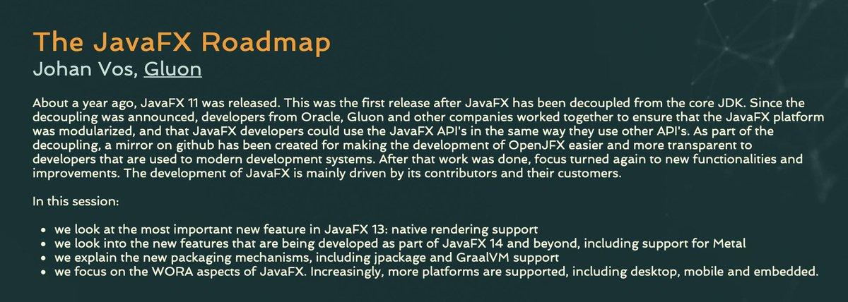 javafx hashtag on Twitter
