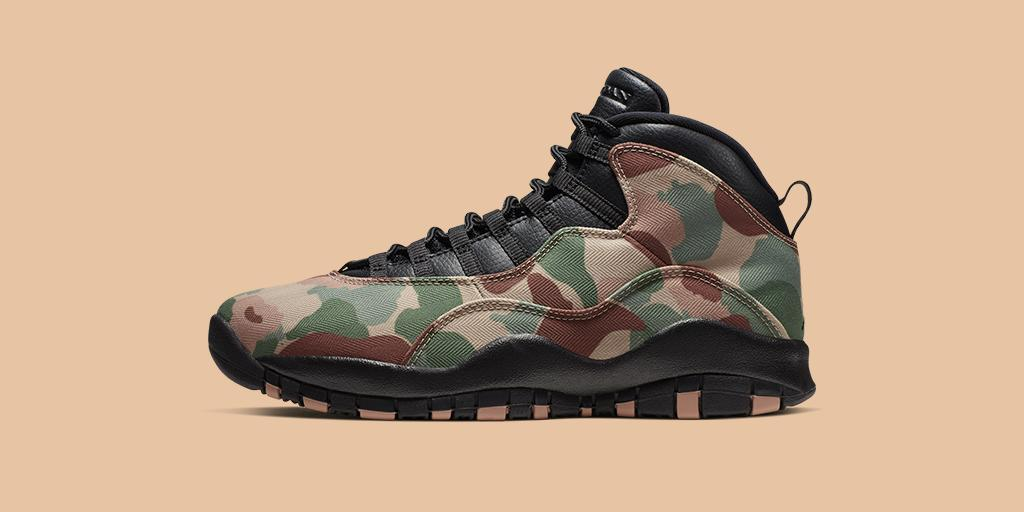 Locked in mindset  The @Jumpman23 Air Jordan X 'Desert Camo'  Shop 🇺🇸 https://go.nike.com/WwXXYfv1yKb