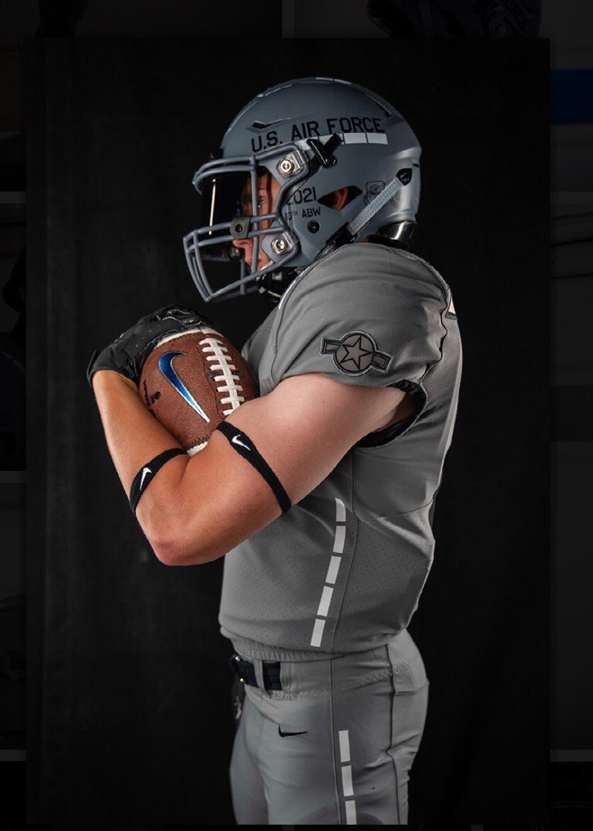 LOOK: Air Force unveils awesome alternate uniform honoring C
