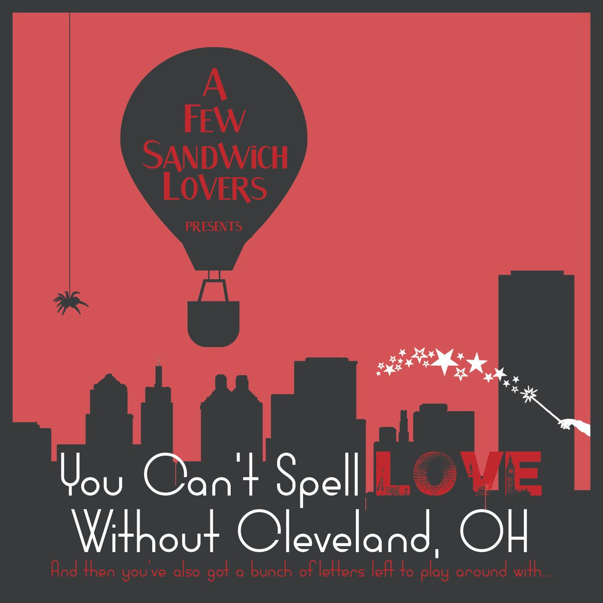 Tonight is one of your last chances to see You Can't Spell Love Without Cleveland, OH! @ucbtny