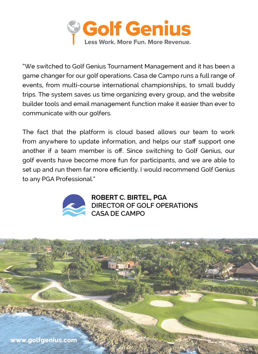 Golf Genius Software (@GolfGenius) | Twitter