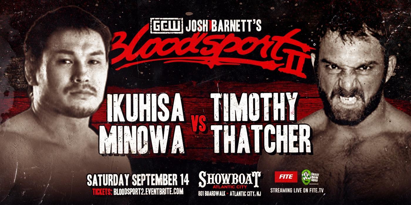 Minowa-Thatcher at Bloodsport 2