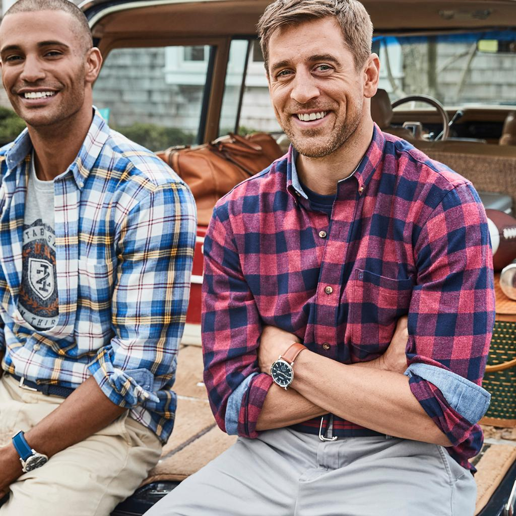 Izod On Twitter Good Luck Aaronrodgers12 On Your First Game Of The Season Catch Aaron And Colinjost In The Latest Fall 2019 Campaign Izod Https T Co Allg42iiwl