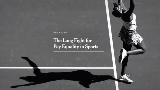 We have long reported on the inequalities women face — and the strides taken toward change. Our new ad traces women's fight for equal pay and treatment in sports, through the lens of our journalism over the years.