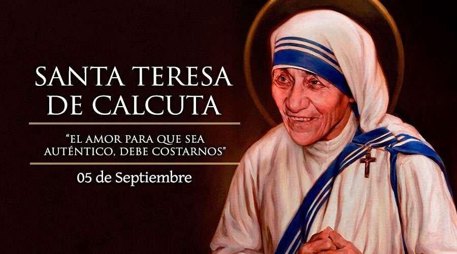 Frases De Santos On Twitter Hoy Es Santa Teresa De Calcuta