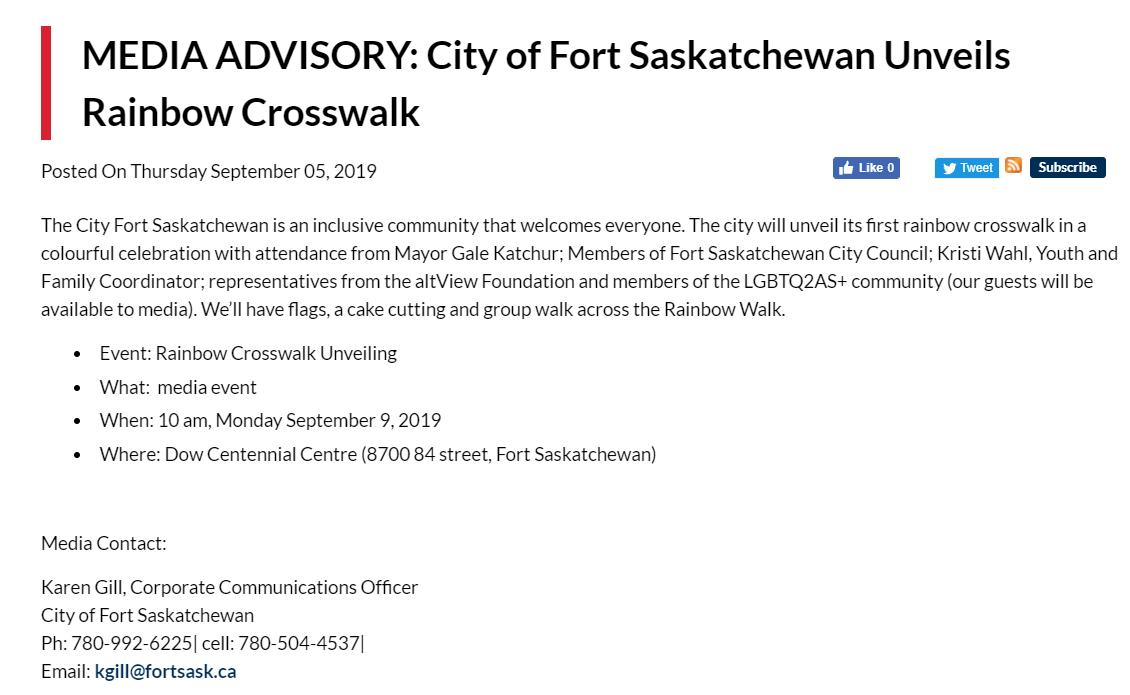 City of Fort Sask (@CityFortSask) | Twitter