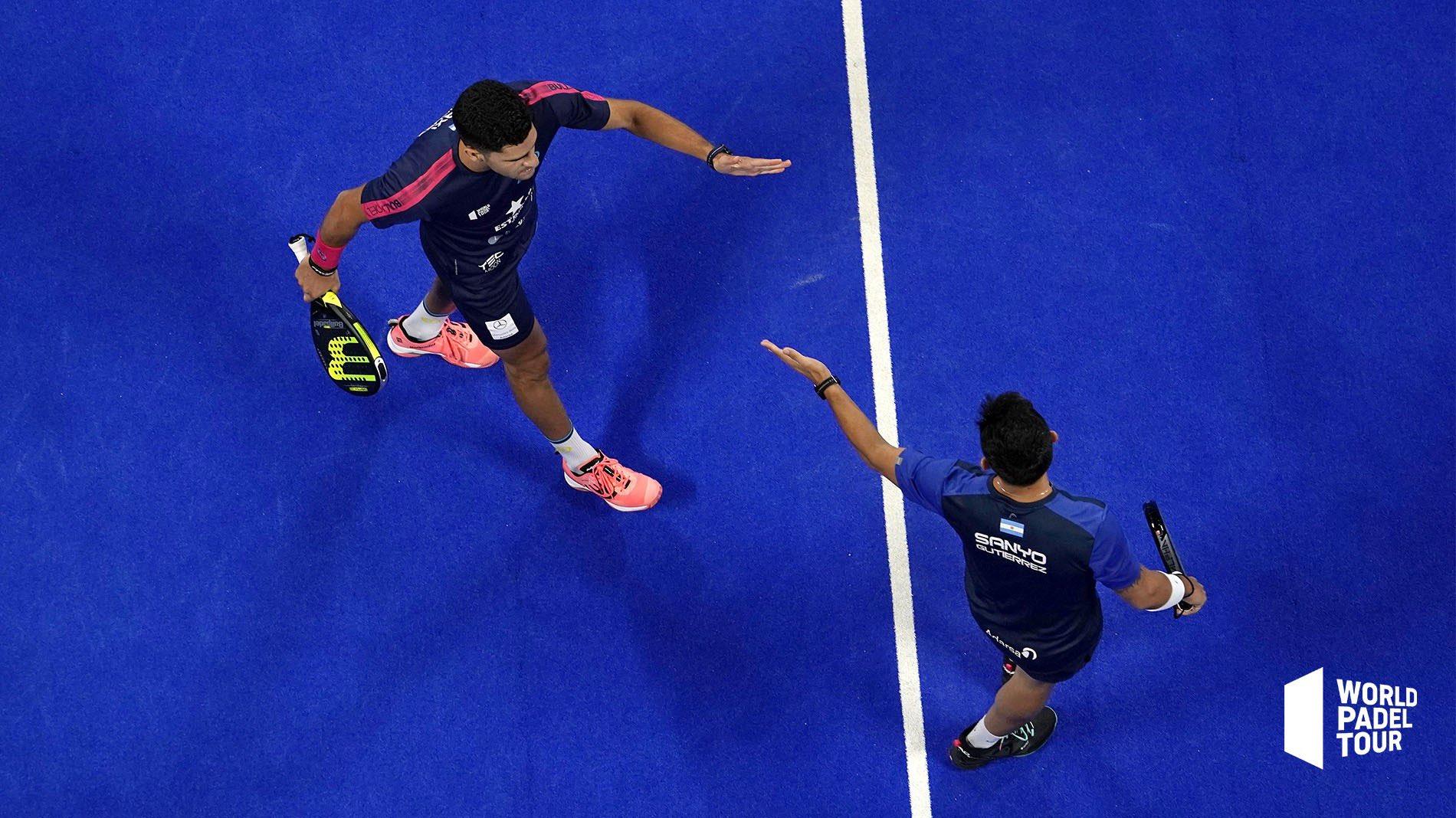Maxi Sánchez y Sanyo Gutiérrez avanzan a cuartos del Madrid Master