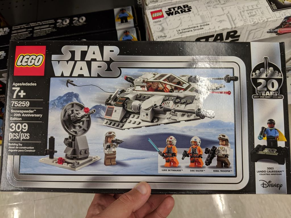 SACHET POLYBAG LEGO MINIFIGURE VAISSEAU STAR WARS SNOWSPEEDER