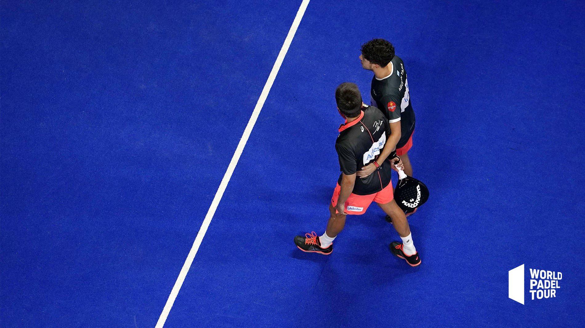 Fernando Belasteguín y Agustín Tapia vencieron a la pareja 2 en los octavos del Madrid Master