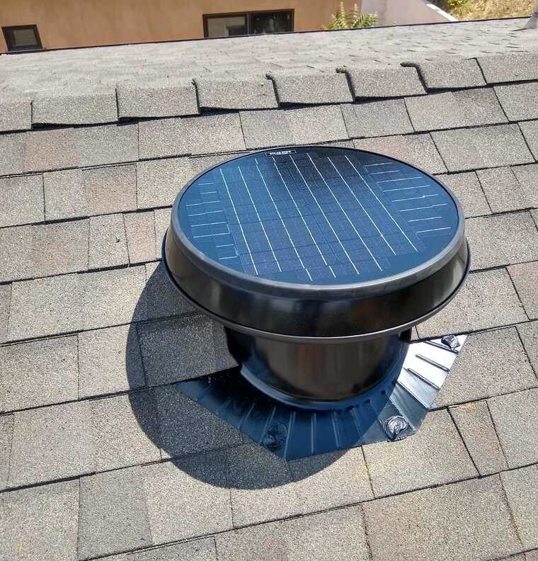 But does your attic fan run on #solar?   You don't need anything sucking up MORE electricity. You need a solution that also saves you money! #themoreyouknow https://buff.ly/2Ik1IIT #SolatubeHome #SolarAtticFan #AtticFans #HomeImprovement #Energy #Factspic.twitter.com/FPITrvFU8h