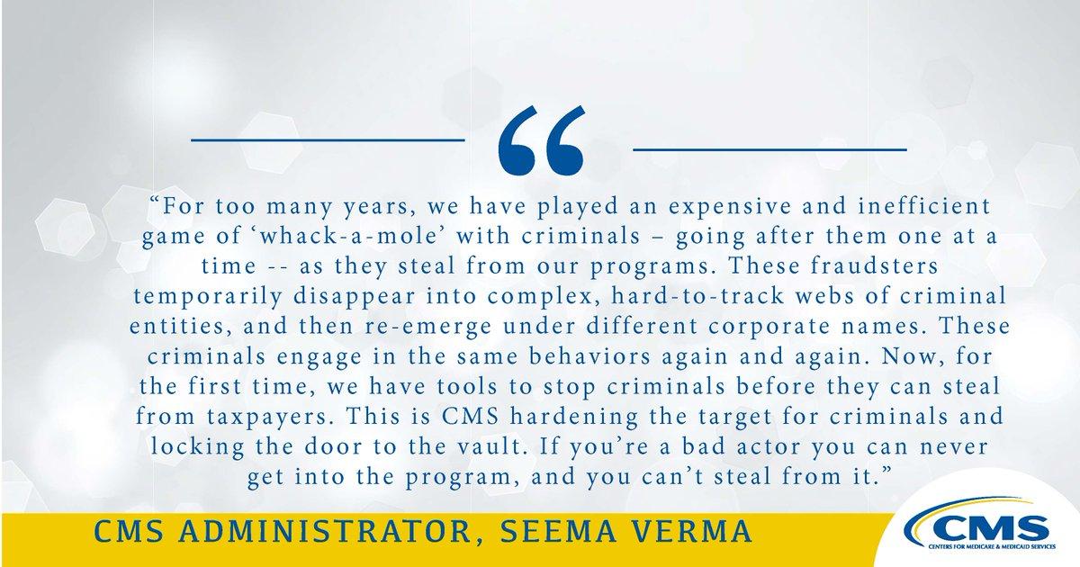 Administrator Seema Verma (@SeemaCMS) | Twitter