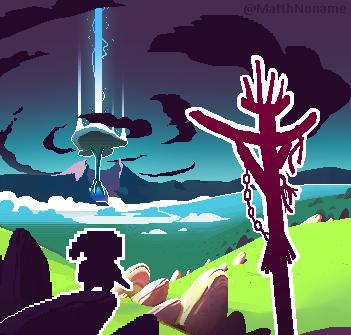 Landscape Fantasy Pixel Art