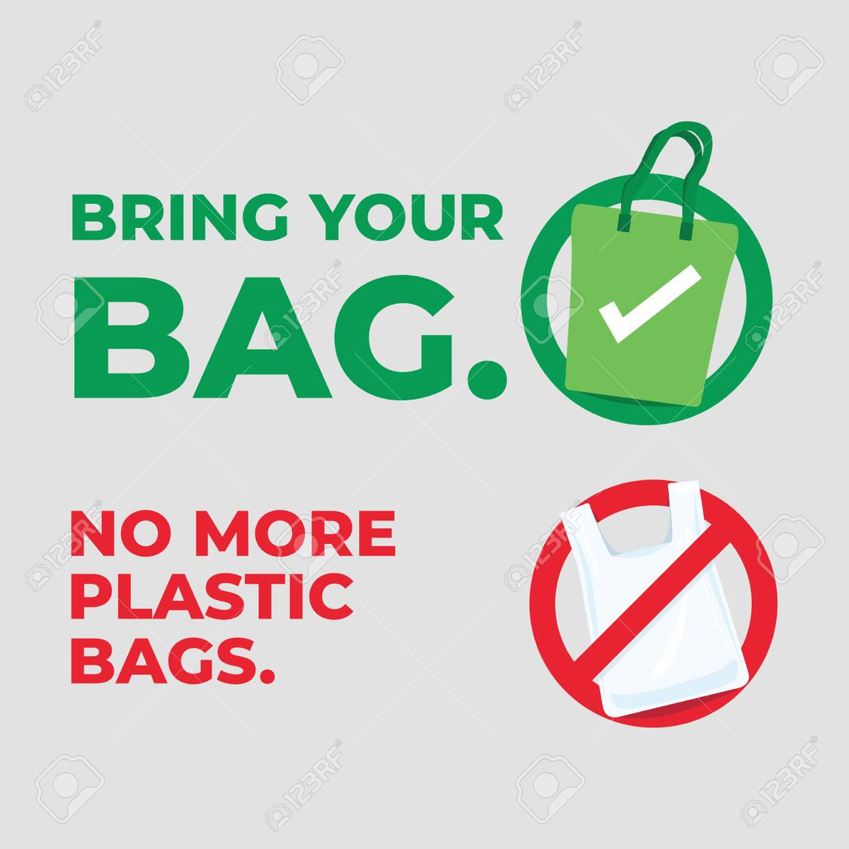 I Love That Most #GroceryStores Around Me; No Longer have #PlasticBags!!! #NoMorePlasticBags