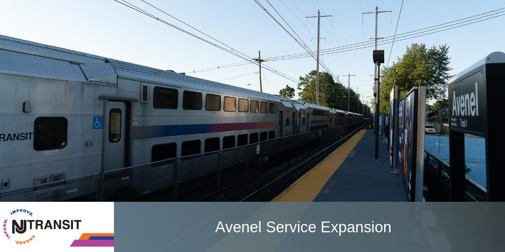 Nj Transit On Twitter Nj Transit Expands Rail Service At Avenel To Meet Customer Demand Click The Link Below For New Service Information At This Station Https T Co Urakj85c5e Https T Co Wfoxywsscz