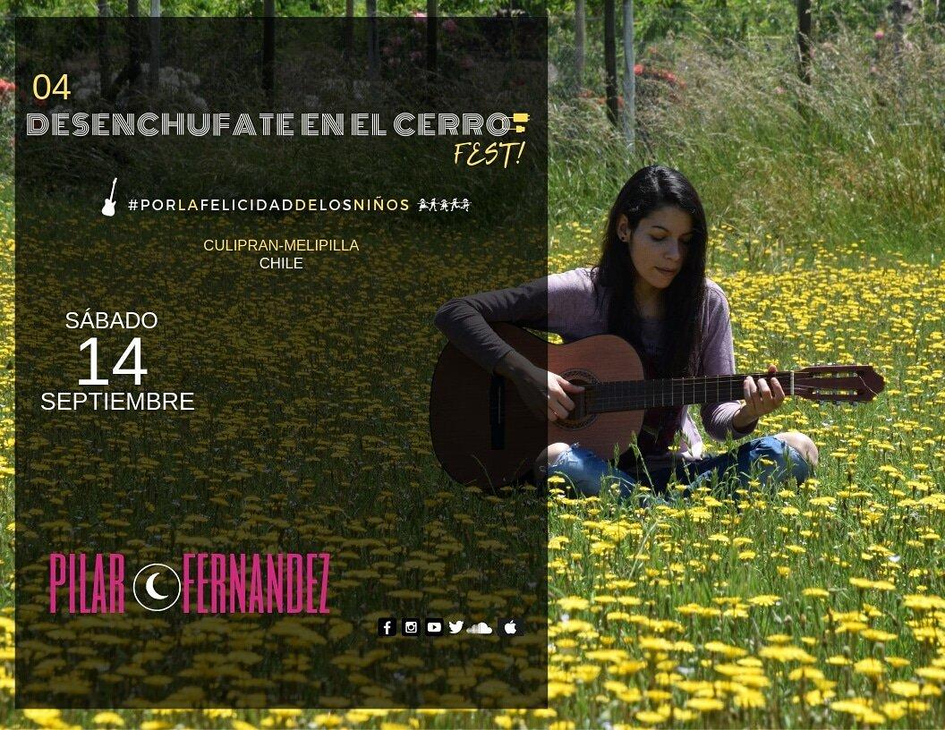 Éste 14/9 a las 16hs estaré compartiendo nuevas canciones en el 4to Desenchufate en el cerro fest!!! 🌼🎸🎶🌈 #culipran #melipilla #queseamusica #nuevascanciones #setratadedisfrutar https://t.co/uPv2HzuwFZ