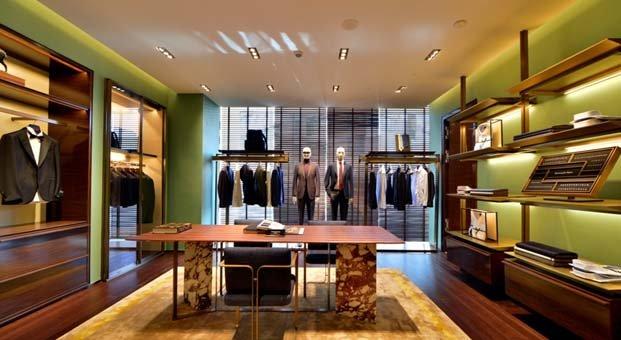 Ermenegildo Zegna'nın Türkiye'deki en büyük mağazası Emaar'da