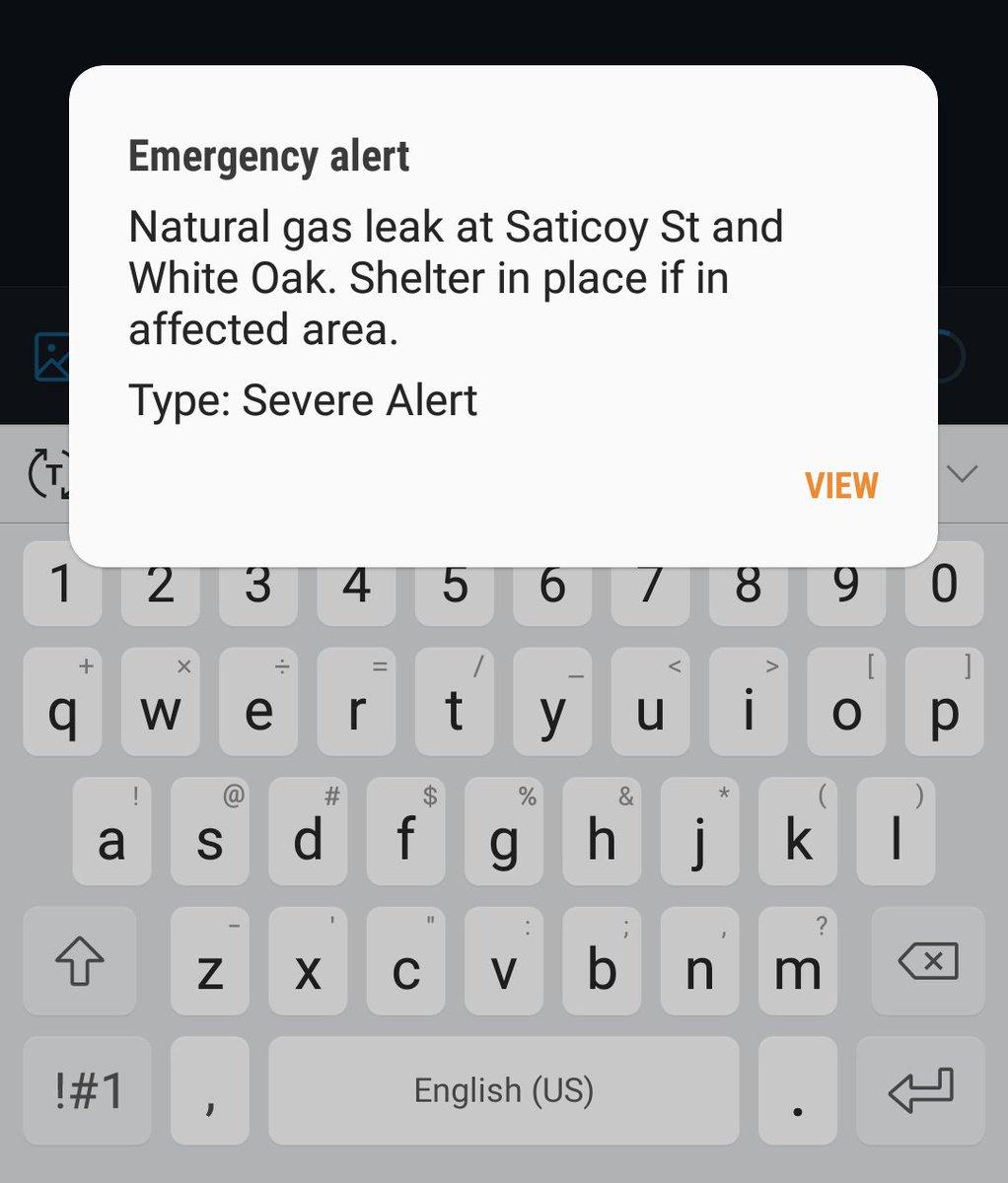 emergencyalert hashtag on Twitter