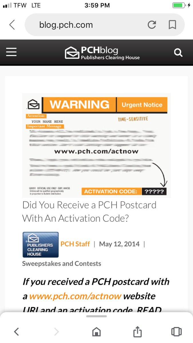 PCH (@pchdotcom) | Twitter