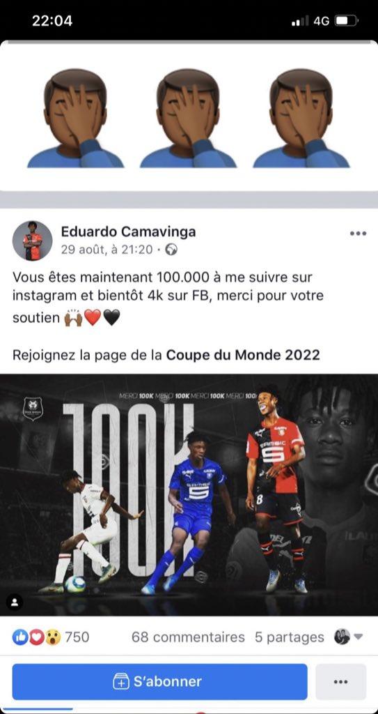 Eduardo Camavinga (@ecama10) on Twitter photo 2019-09-05 20:05:30